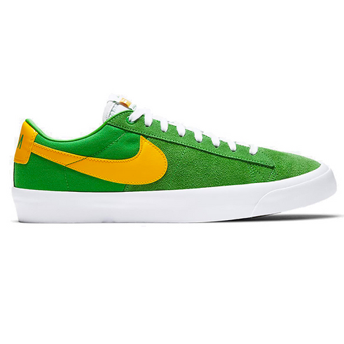 Nike SB GT Blazer Low Pro - Lucky Green/University Gold