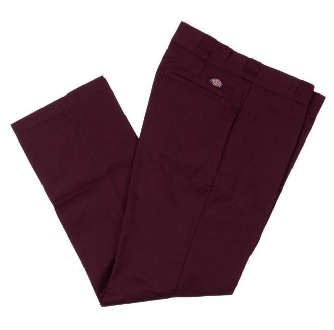 Dickies 874 Regular Fit Work Pant - Maroon