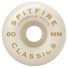 Load image into Gallery viewer, Spitfire Formula Four Classic Swirl Wheels - 101D 60mm