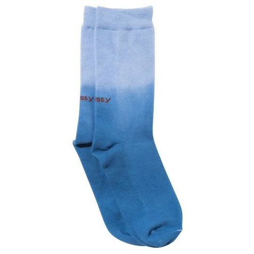 Stussy Dip Dye Everyday Socks - Blue