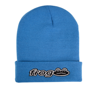 Frog Works! Beanie - Car Blue