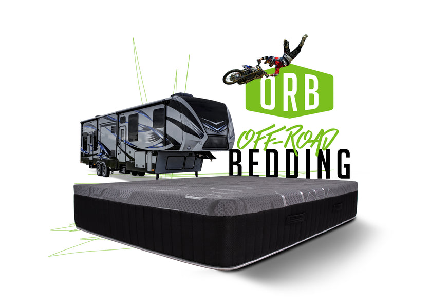 OFF-ROAD BEDDING PUTS AN END TO BORING CAMPER BEDS
