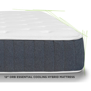 "Off-Road Bedding ORB 12"" Essential Cooling Hybrid Mattress"