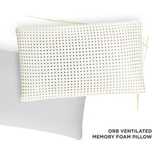 Load image into Gallery viewer, Off-Road Bedding Ventilated Memory Foam Pillow