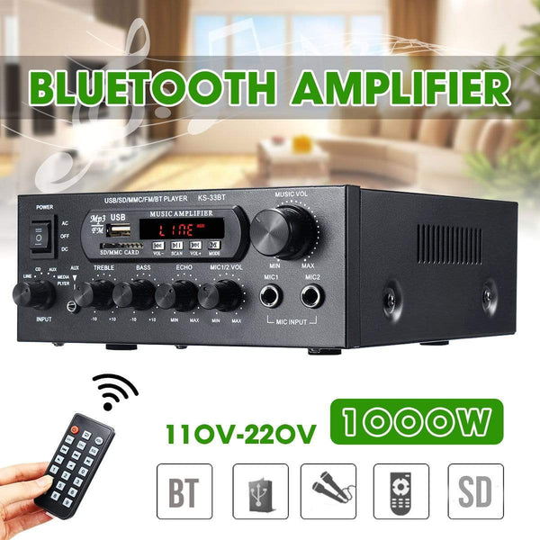 1000W Bluetooth Amplifier Kassouanet
