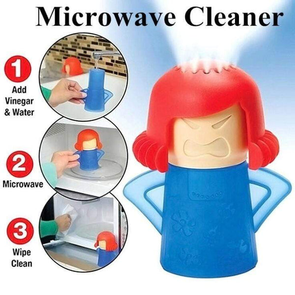 Angry Mama Microwave Steam Cleaner Klicy