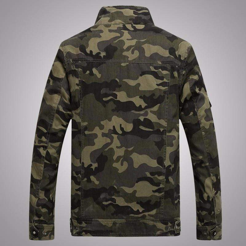 Army Military Jacket Men Tactical Camouflage Kassouanet