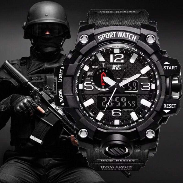G style Shock Watches Men Military Army Mens Watch Reloj Led Digital Sports Wristwatch Male Gift Analog Automatic Watches Male - kassouanet