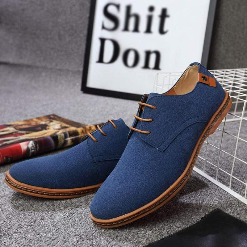 High Quality REETENE Men Fashion Flock Casual Shoes - kassouanet