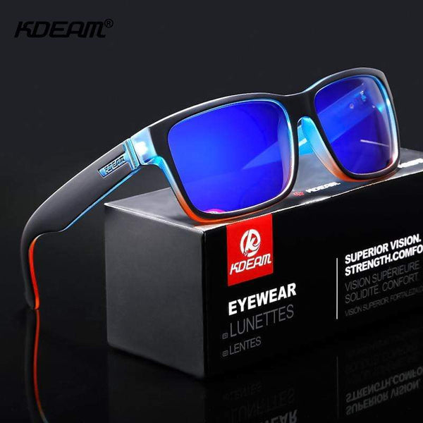 KDEAM Revamp Sport Polarized Shockingly Outdoor Driving Photochromic Sunglass - kassouanet