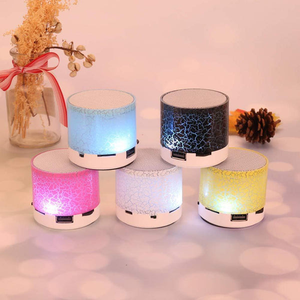 Portable Wireless Speaker Light Small Crack Kassouanet