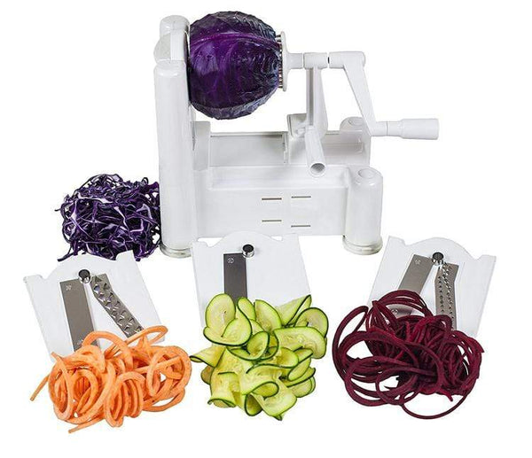 Ultimate Spiralizer™ 5-Blade Vegetable Slicer Kassouanet