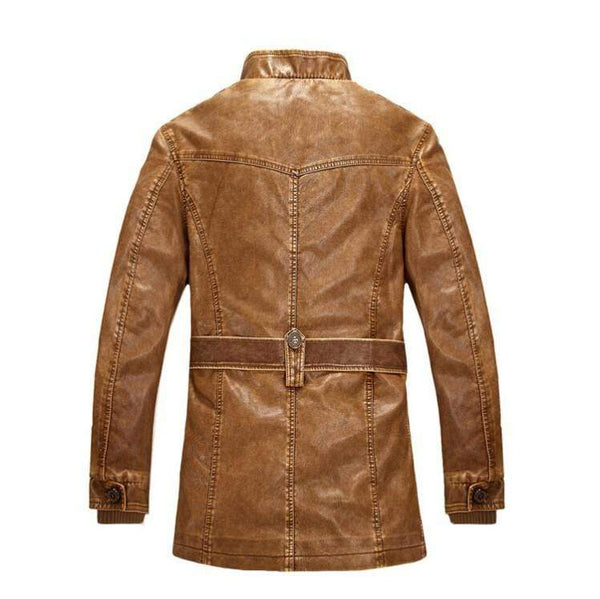 Winter Men Fashion Leather Suede Jackets Kassouanet