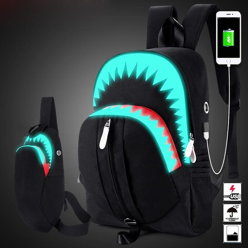 Wonderful Glowing Backpack - kassouanet
