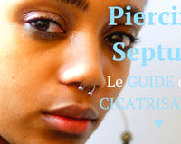 piercing septum cicatrisation