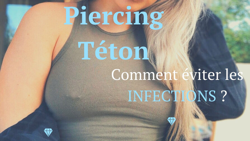 piercing teton infection
