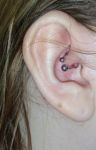 piercing oreille cartilage infection
