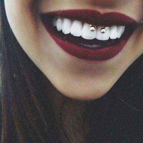 piercing smiley 9