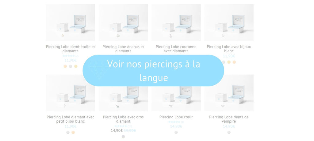 Voir nos piercings langue