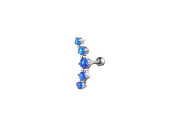 Piercing Conch <br> Diamants de Couleur