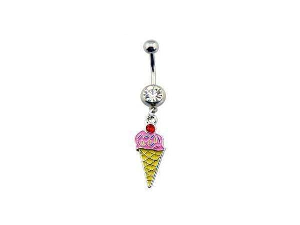 Piercing Nombril <br> Cornet de Glace