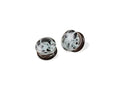 Piercing-Dealer 14mm / Gris Ecarteur D'Oreille <br> En Verre