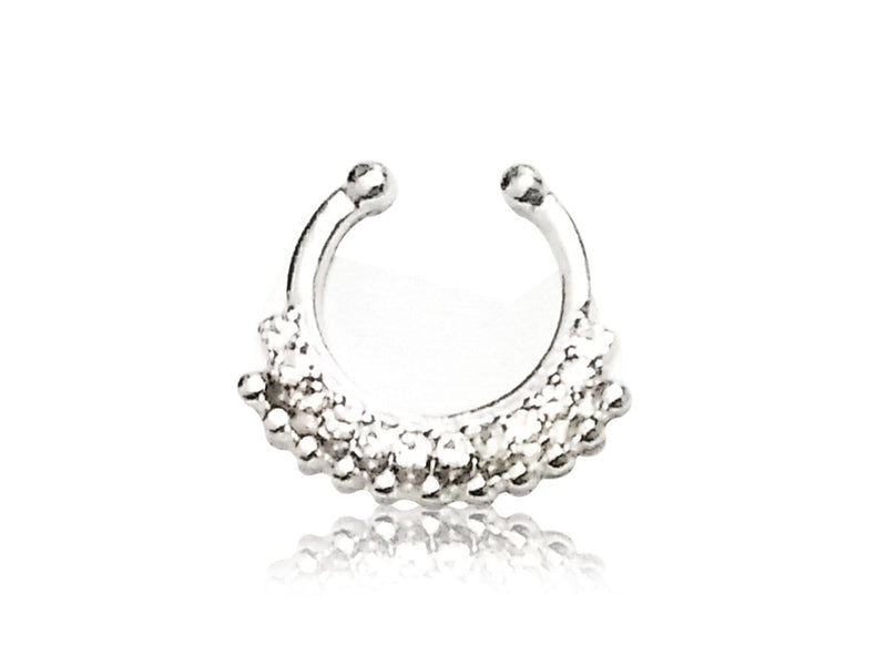 Faux Piercing Nez <br> Diamants Swarovski®