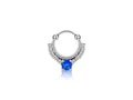 Piercing-Dealer Bleu Faux Piercing Nez <br> Strass