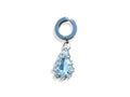 Piercing-Dealer Argent Faux Piercing Nombril <br> Diamant
