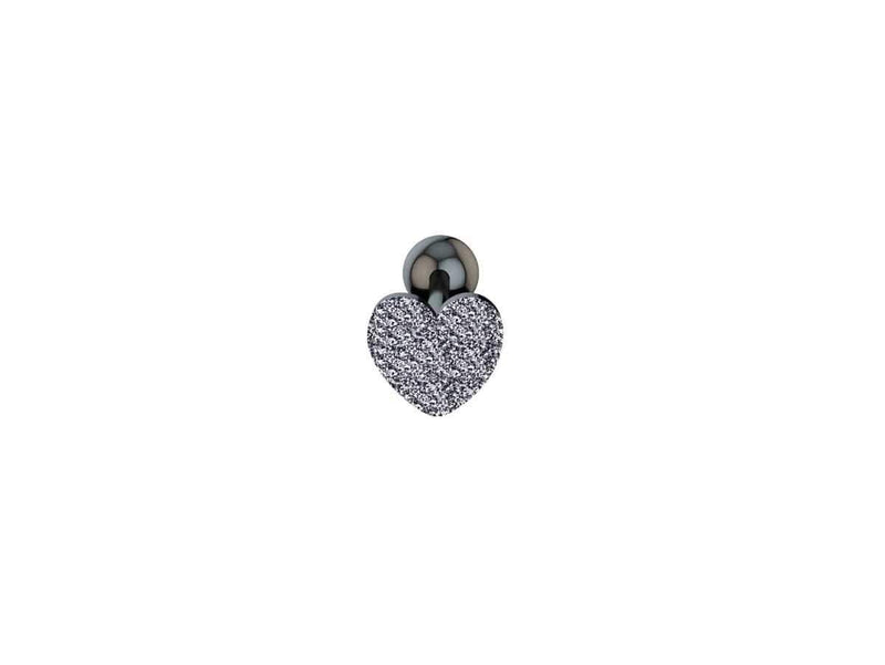 Piercing Langue <br> Coeur