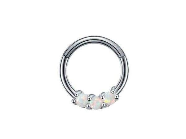 Piercing-Dealer Argent / 8mm Piercing Nez Boules en Or Blanc