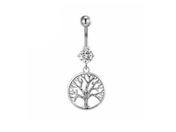 Piercing Nombril <br> Arbre de Vie