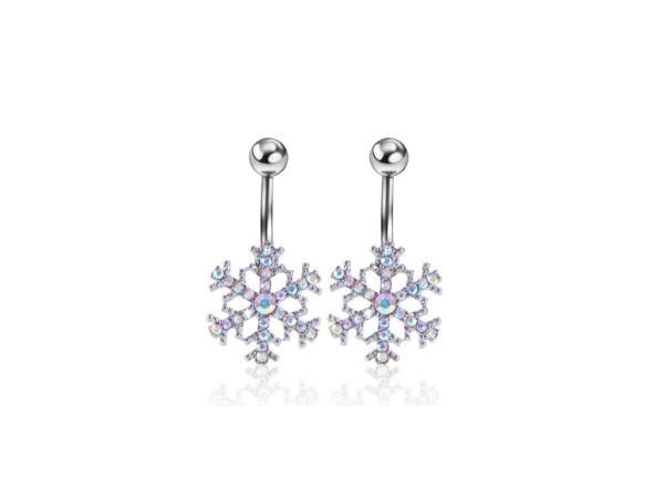 Piercing Nombril <br> Flocon de Neige