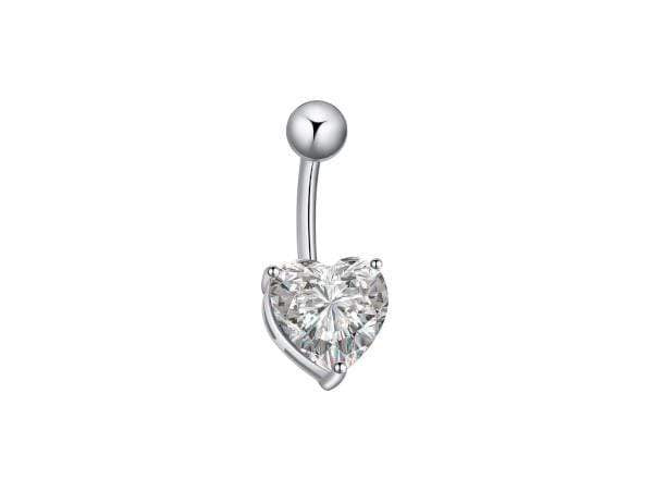 Piercing Nombril <br> Cœur Swarovski®