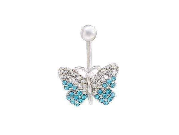 Piercing Nombril <br> Swarovski® Papillon