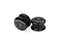 "Piercing-Dealer 6mm Plug d'Oreille <br> ""Jack Daniels"""