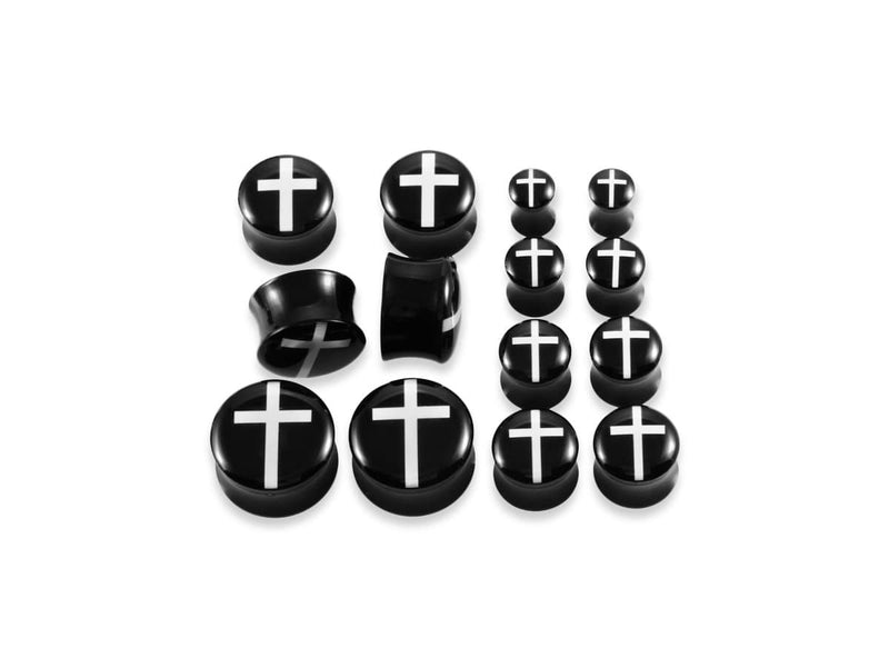 Piercing-Dealer Plug d'Oreille <br> Jesus-Christ