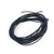 2mm thick black elastic cord