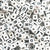 Plastic White 11mm Cube Alphabet Beads, (Horizontal), Single Letters, 12 beads