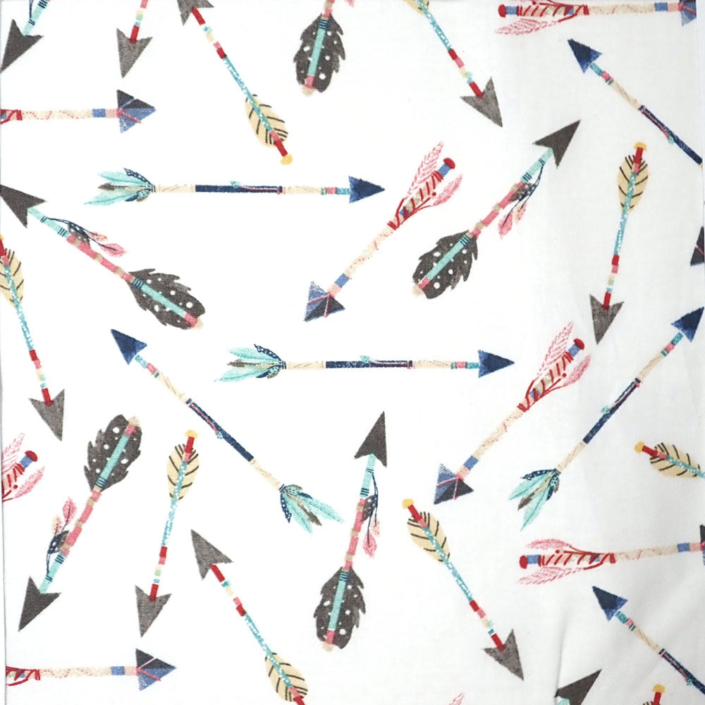 Feather Arrows, 100% Cotton Fabric, per yard