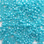 Light Blue Pearl Pony Beads