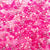 Pink color mix of 6 x 9mm Plastic Pony Beads