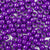 plum purple 6 x 9mm plastic pony beads in bulk