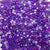 mix of purple colors of 6 x 9mm plastic pony beads