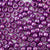 violet pearl 6 x 9mm plastic pony beads in bulk