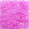 Light Purple Glow Pony Beads