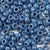denim blue 6 x 9mm plastic pony beads in bulk
