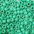 sage green 6 x 9mm plastic pony beads in bulk