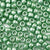 fern green pearl 6 x 9mm plastic pony beads in bulk