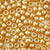 gold pearl 6 x 9mm plastic pony beads in bulk